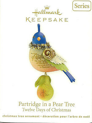 HALLMARK 2011~ PARTRIDGE IN THE PEAR TREE 1ST  THE TWELVE DAYS of Christmas BSW