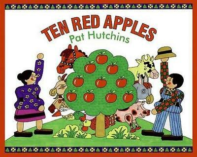 NEW Ten Red Apples By Pat Hutchins Hardcover Free Shipping