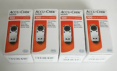 Accu-Check Mobile 100 Strips x 4