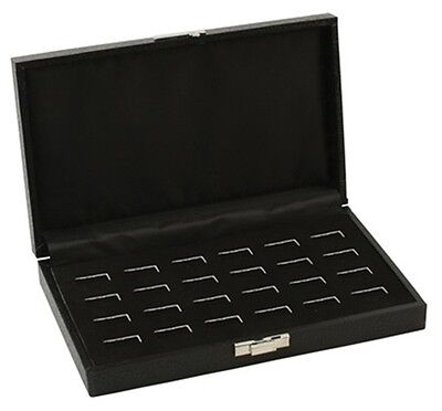 6 Wide Slot Ring Display Cases 3 of the 12 Slot Case and 3 of the 24 Slot Cases