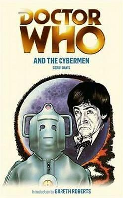 NEW Doctor Who And The Cybermen By Gerry Davis Paperback Free Shipping