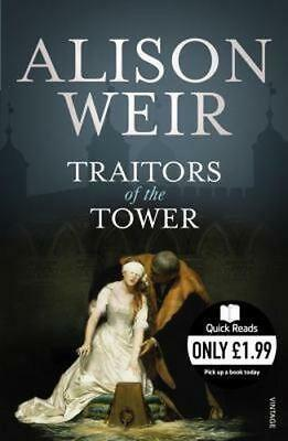 NEW Traitors of the Tower By Alison Weir Paperback Free Shipping