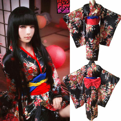Think, Hot kimono girl and black are not