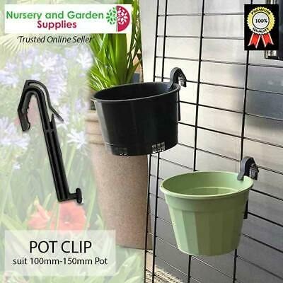 Plant Pot Clip (ideal for orchids) - Hang your pots on mesh