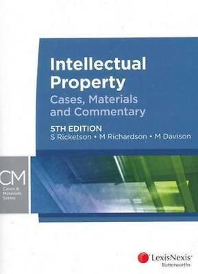 NEW Intellectual Property By S. Ricketson Paperback Free Shipping
