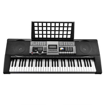 61 Keys Electronic Keyboard Electric Piano MK-922 Digital Music LCD Full Size