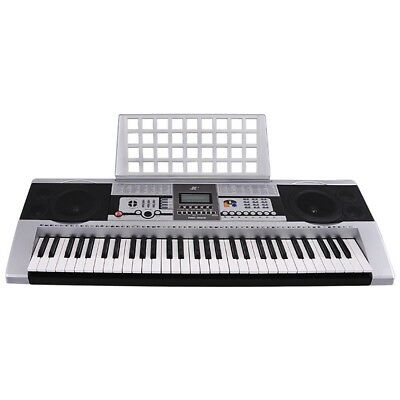 61 Keys Electronic Keyboard Electric Piano Digital Music LCD Full Size MK-922