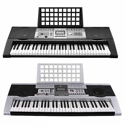 61 Keys Electronic Keyboard Electric Piano Digital Music LCD Display MK-922