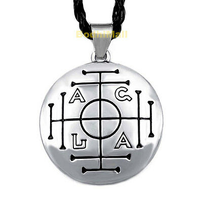 Medieval Money Talisman Wealth Prosperity Wiccan Pendant Necklace