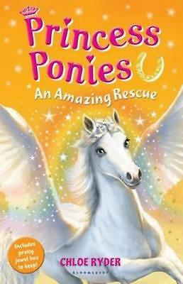 NEW Princess Ponies 5 By Chloe Ryder Paperback Free Shipping