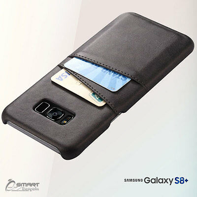 PU Leather Card Holder Wallet Back Case Cover For Samsung Galaxy S7 S7 Edge S8