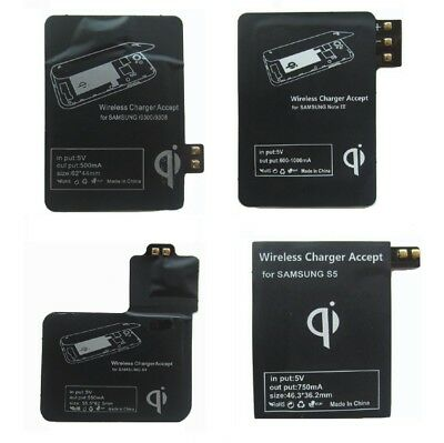 QI Wireless Charger Charging Receiver Kit For Samsung iPhone USA Fast Shipping