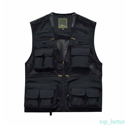 Durable Waistcoat Vest Jacket Coat For Outdoor Sport Hunting Fishing Camping Hot