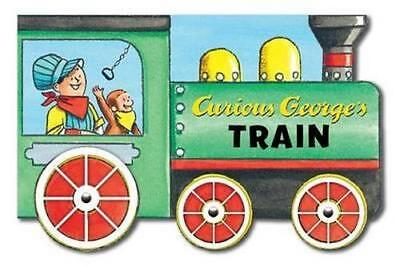 NEW Curious George's Train By REY H.A. Board Book Free Shipping