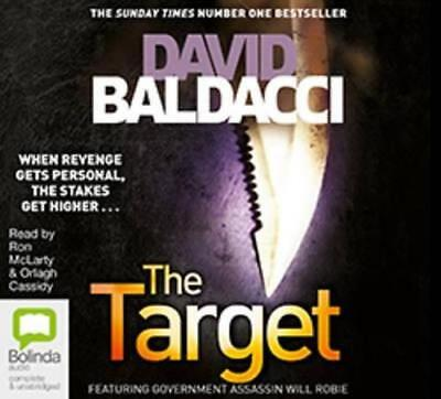NEW The Target By David Baldacci Audio CD Free Shipping