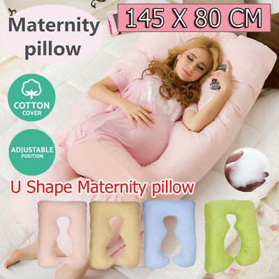 Maternity Pregnancy Pillow Sleeping Nursing Body Support  Feeding Boyfriend AU