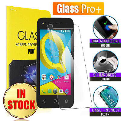 Tempered Glass LCD Screen Protector Film Guard For Alcatel U5 / Optus X Spirit