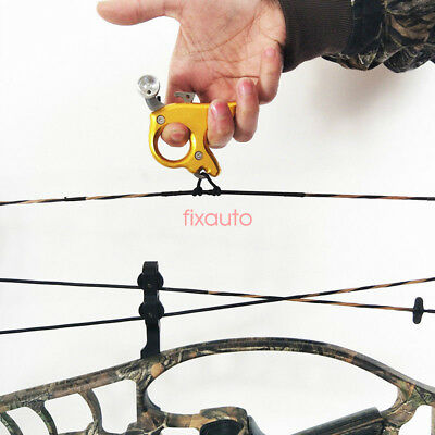 Archery Caliper Release for compound Bow Release Hunting Archery Wrist Clamp fo1
