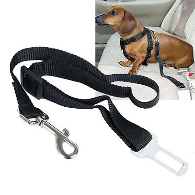 5Colors Dog Pet Car Seguridad Cinturón Harness Restraint Plomo Leash Travel Clip