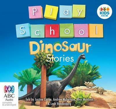 NEW Play School Dinosaur Stories By Play School Audio CD Free Shipping
