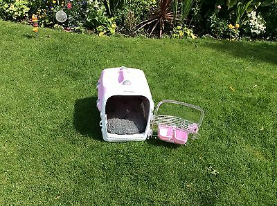 Small Dog or Cat Carrier, colour Pink