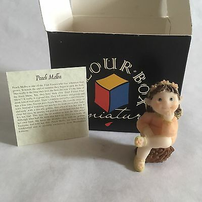 Peach Melba - Collectible Fruit Fairies Westminster Editions