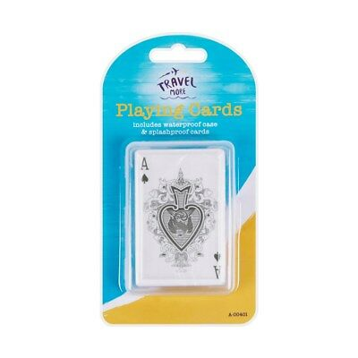 Travel Waterproof Playing Cards With Waterproof Case