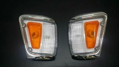 NEW Toyota Hilux Indicator Signal Corner Lamp Light 88-97 LN106 4WD Pickup Pair