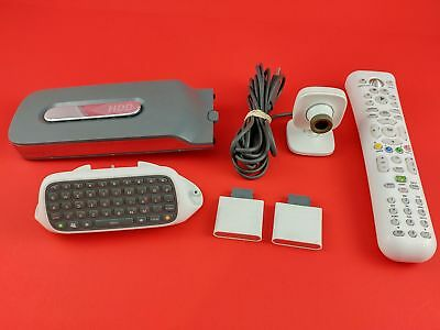 Xbox 360 HDD Hard Drive Chat Pad Memory Units Camera & Remote - Tested & Working