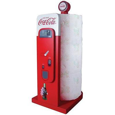 Coca Cola - Vending Machine Wooden Paper Towel Stand - New & Official In Box
