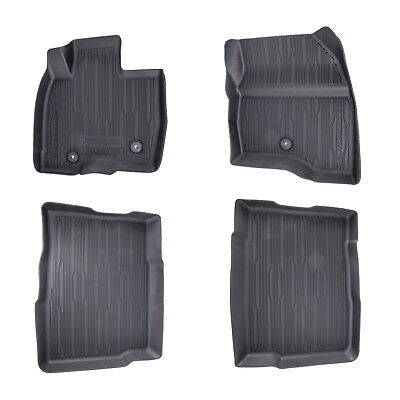Oem New   Ford Explorer Floor Mats Tray Style Rubber All Weather  Piece