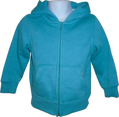 PRE-OWNED Boys H&M Blue Hooded Jacket Size 1-2 Yrs