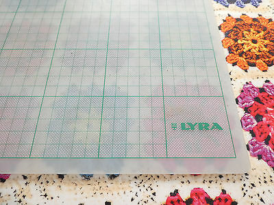 LYRA A2 Translucent Cutting Mat -Sewing, Cutting, Crafting, Felting, Cake Making