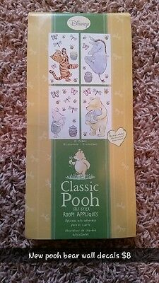 Classic Winnie the Pooh wall decal Removable Stickers unisex