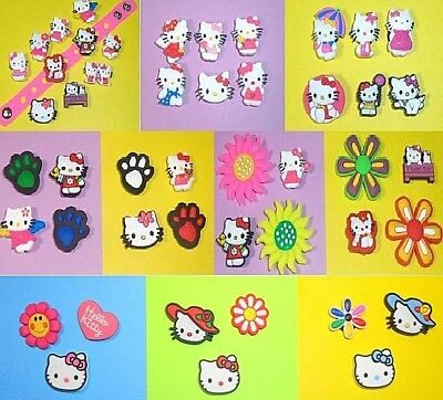 Hello Kitty  Shoe Charms Shoe Piins for Crocs Cake Toppers Shoe Decorations