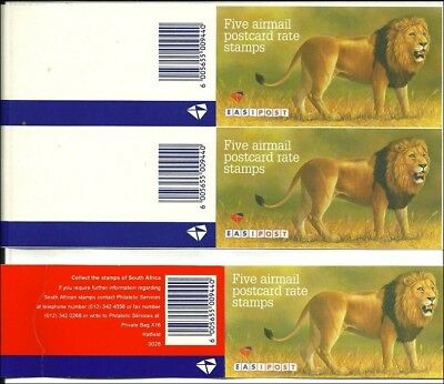 South Africa 1996,  Trial printing of a booklet cover, Probedruck eines
