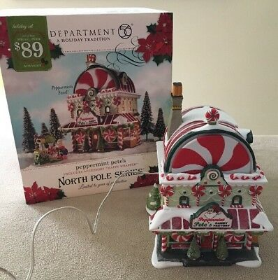 Dept 56 North Peppermint Pete's Limited Edition 2010 Orig Box Excellent!