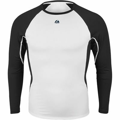 Majestic Men's Premier Warrior Fitted LS Baselayer
