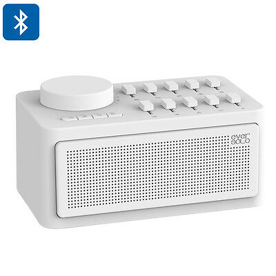 Zidoo White Noise Generator Sleep Therapy,Bluetooth Support,Ten Sound Effect AUX