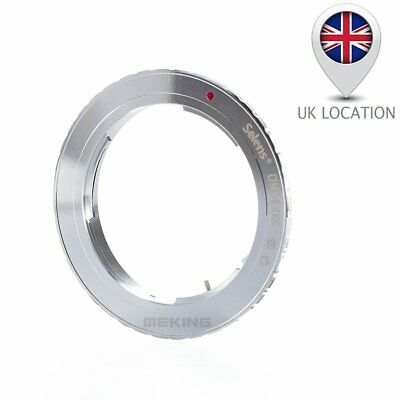 OM-EOS Olympus OM Lens to Canon EOS Camera EF Mount Adapter Ring 1100D 700D UK
