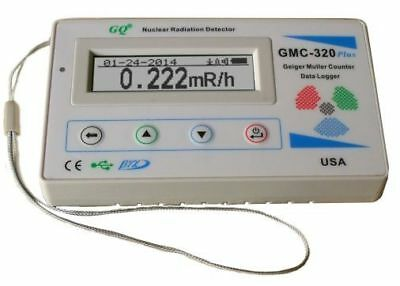 GQ GMC-320-Plus Geiger Counter Nuclear Radiation Detector Meter Beta Gamma X ray
