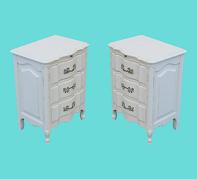 Pair of Mid Century French Provincial Nightstands