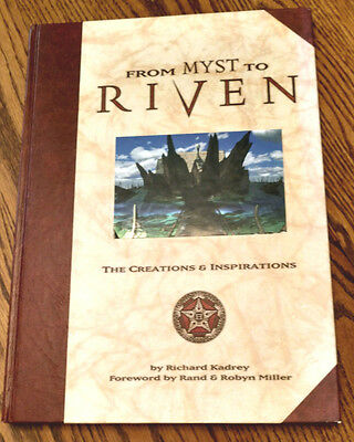From Myst To Riven Book The Creations & Inspirations First Edition 1997