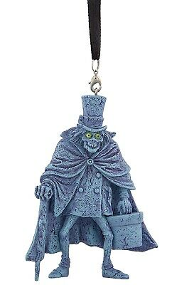 2017 Disney Parks Haunted Mansion Hatbox Ghost Christmas Ornament
