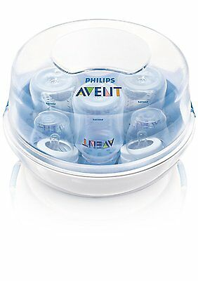 Philips AVENT Microwave Steam Sterilizer  Baby Feeding Tool Cleaner Health