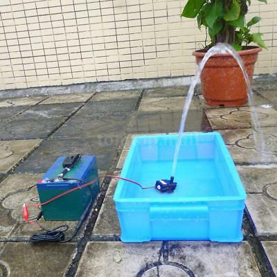 Mini Brushless Submersible Water Pump for Fish Tank Aquarium Fountain DC12V J5Y6
