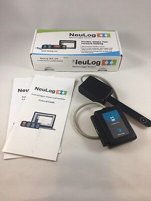 NeuLog Conductivity Logger Sensor, Science Probeware for Classroom