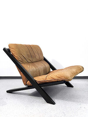 Swiss Designer Lounge Chair by Ueli Berger for De Sede Rare Classic from the 70s