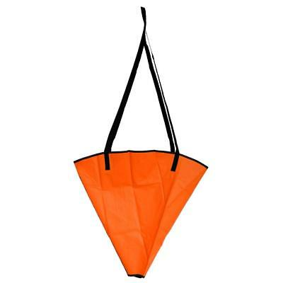 Orange Sea Anchor Drogue 14-16ft Fishing Boat Kayak Jet Ski Parachute Brake