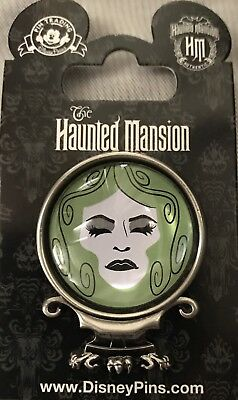 Disney Parks Haunted Mansion Madame Leota 3D Crystal Ball Pin WDW NEW ON CARD